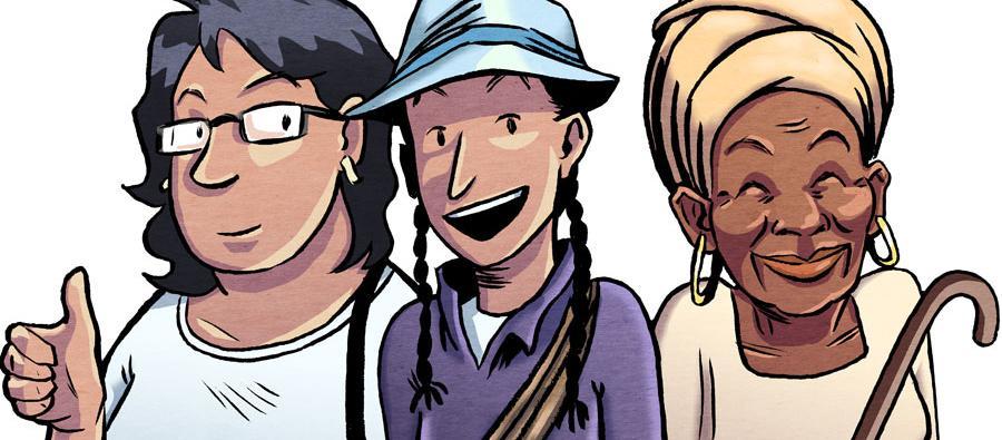 Sol, Marina y Esperanza son las protagonistas de esta serie de cómics y junto a campesinas de Latinoamérica nos harán vivir seis grandes aventuras.