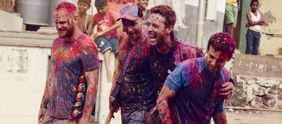 Le groupe Coldplay a spécialement enregistré une chanson de son répertoire qui figure sur cet album live. Photo: Julia Kennedy