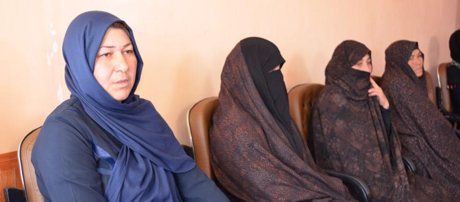 Amina Ehrary, a Herat resident and a 42-year-old mother of three, has spent most of her life fighting for women's rights. Credit: Freshta Ghani/Oxfam