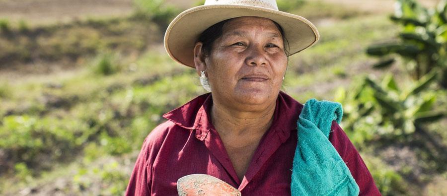 """Mujeres rurales de Honduras se beneficiarán de """"Credimujer"""". Foto: Oxfam"""