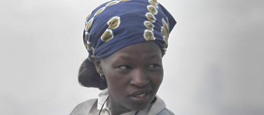 Elizabeth Dunge works at the Jamaica dump in the middle of the Mukuru informal settlement, in Nairobi, Kenya, on April 2, 2014.