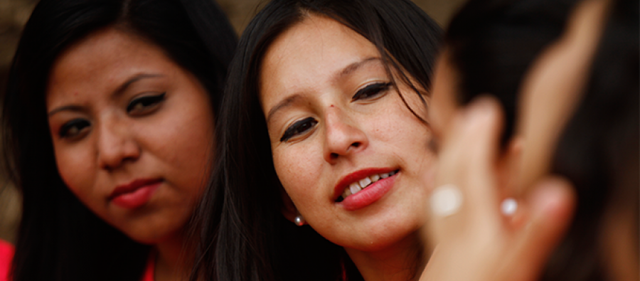 Tras participar en un proyecto de empoderamiento de mujeres y adolescentes embarazadas apoyado por Oxfam en Honduras, Delmis se ha convertido en una activista. Foto: Delmer Membreño.