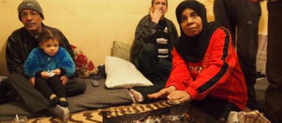 Familia de emigrantes sirios comparten casa,  Líbano. Foto: Caroline Gluck/Oxfam