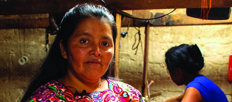 Reina Candelaria lucha por las violencias contra las mujeres en Guatemala.