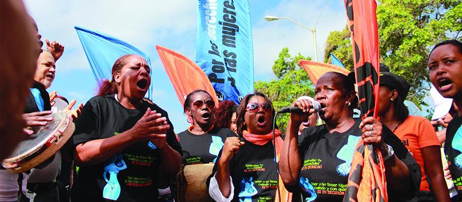 La lucha contra la violencia contra las mujeres y niños es indispensable en República Dominicana.