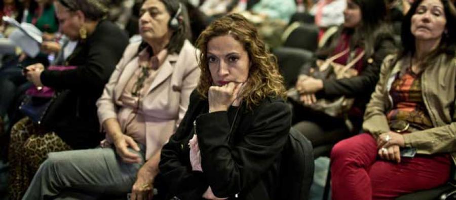 Jineth Bedoya. Photo: Pablo Tosco/Oxfam