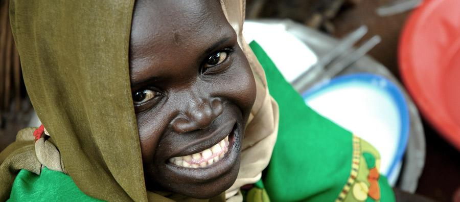Une fille de Soudan du Sud. Phóto: Pablo Tosco/Oxfam
