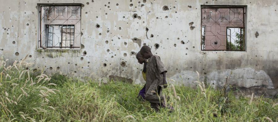 Since the beginning of the conflict in 2009, thousands of men and boys have been killed or captured by Boko Haram in north-eastern Nigeria. Photo: Sam Tarling/Oxfam