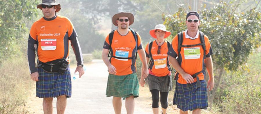 Trailwalker India Bengaluru 2014